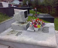 tumba de un blogger