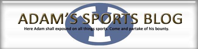 Adam's Sports Blog