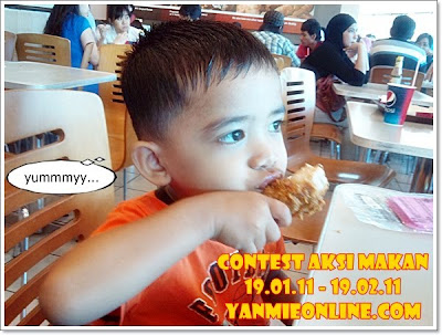 contest aksi makan - Contest Aksi Makan yanmieonline.com