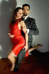 Laura Legazcue y Demian Garcia