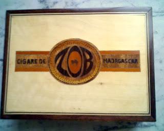boite de Cigares ZOB de madagascar