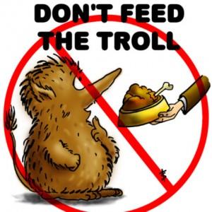 O que você precisa saber antes de fazer compras internacionais Dont-feed-the-Troll-300x300