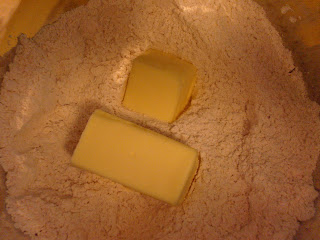 more butter and flour!