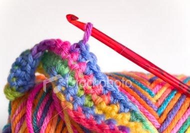 Bufandas y diademas tejidas a crochet