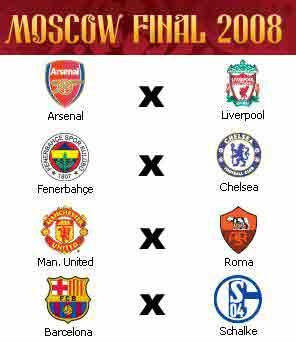Quartas-de-final da Liga dos Campeões 2007/2008