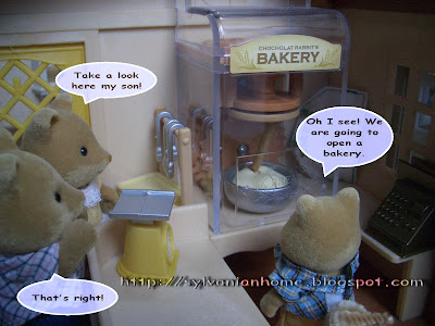 Sylvanian Families Story - New revolutionary bakery machine