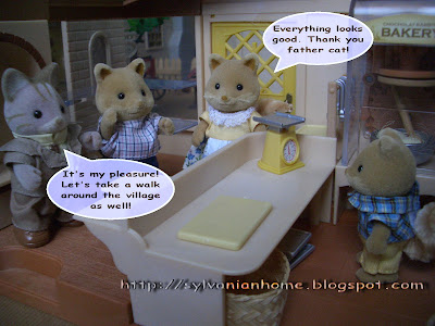 Sylvanian Families Story - getting grocery from Mother Sheepie.