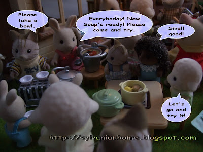sylvanian families secret soup