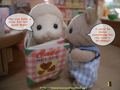 sylvanian families book shop