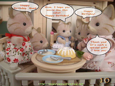 sylvanian families mothers day