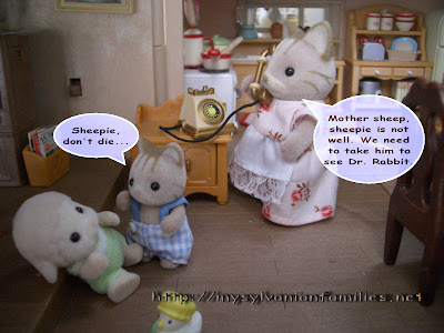 Sylvanian Families Story - Sheepie was taken to see a doctor.