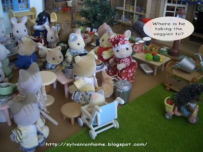 Sylvanian families shops