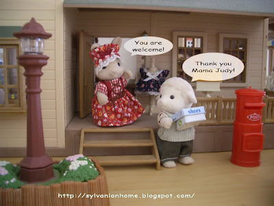 Sylvanian families post box