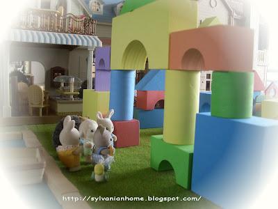Sylvanian families castle