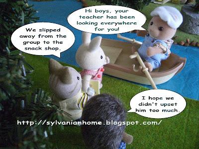 sylvanian families bear