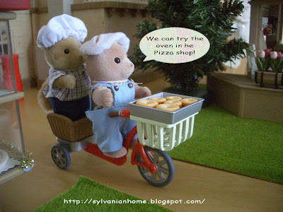 sylvanian families bicycle