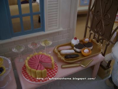 sylvanian families sweet buffet