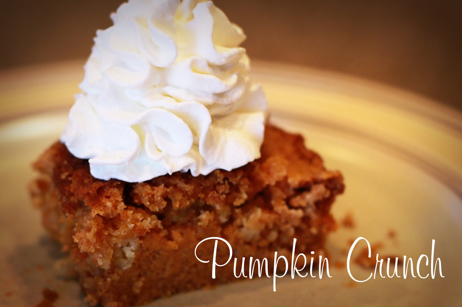 recipe: pumpkin crunch cake pampered chef [18]