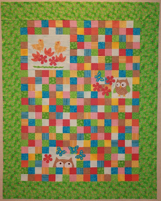 Bigfork Bay Cotton Company: I FINISHED THE OWL QUILT TOP