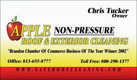 These Tampa Water Restrictions ONLY Apply To DIY Roof Cleaning Homeowners.  Professional Tampa Roof Cleaning Is Exempt. Apple Roof Cleaning Tampa  Carries Our ...