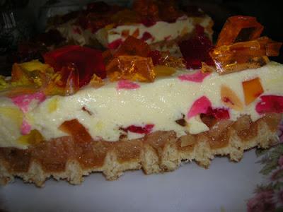 "Articole culinare : Tort "" MOZAICA DE TOAMNA """