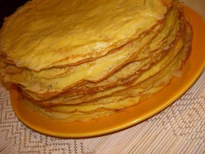 Articole culinare : Clatite cu apa gazoasa