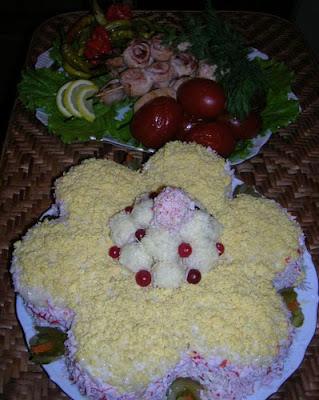 """Articole culinare : TORT -SALATA  """"FLOAREA"""""""