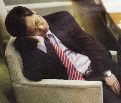 Falling asleep during work? It might be that you been suffering sleep deprivation.