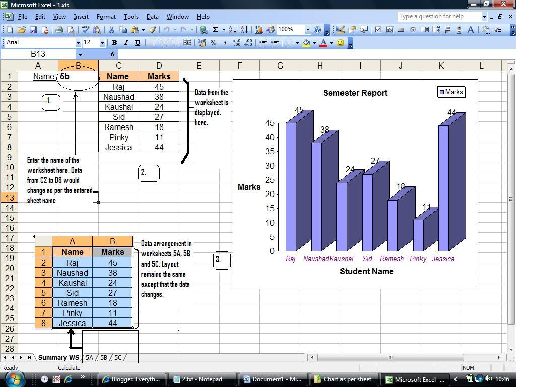 Excel 2010 Formula Return Sheet Name
