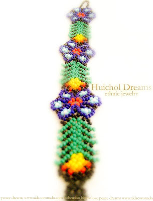 How to Make a Peyote Beaded Cuff Bracelet | eHow.com