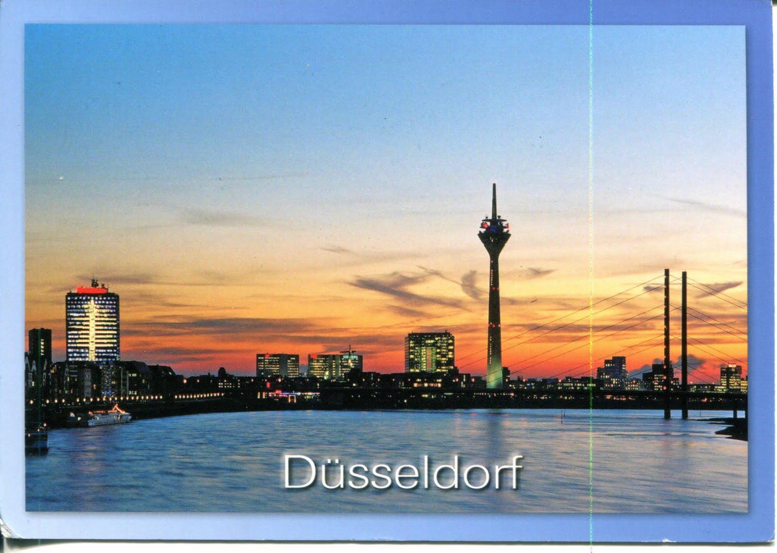 Collect ROC Germany Postcard Dusseldorf
