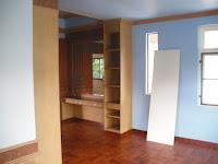 ทาสีภายในบ้าน ห้องชั้นบนห้า