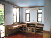 ทาสีภายในบ้าน ห้องชั้นบนหก