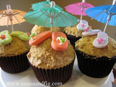 Affection for Detail: Summer Cupcake Ideas