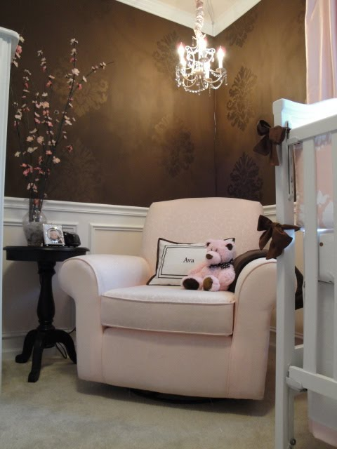 affection for detail pink and brown nursery