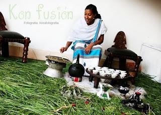 Aromas Especias etiopia infusion Ceremonia cafe etiope te