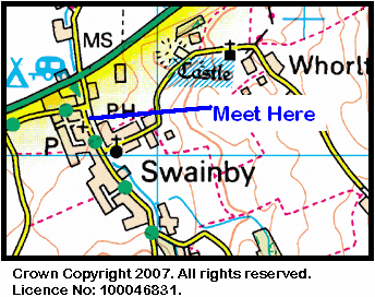 Map of Swainby Area