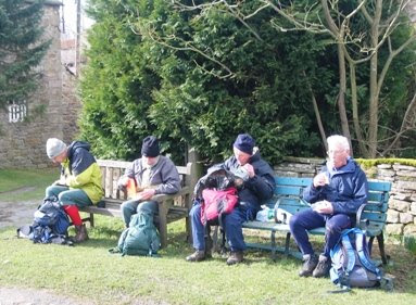 Lunch Stop at West Scrafton