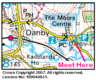 Map of Danby Lodge Area