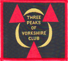Photograph of the Three Peaks badge