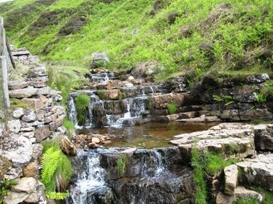 Picture of waterfalls in Slei Gill