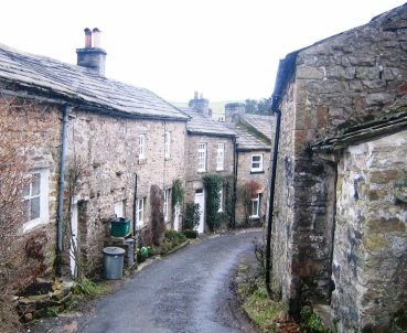 Photograph of Langthwaite Village.