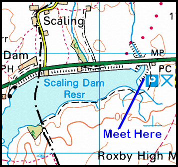 Map of Scaling Dam Area