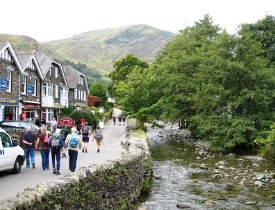 Leaving Glenridding