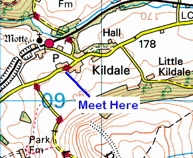 Map of Kildale Area