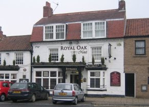 Photograph of the Royal Oak area in Great Ayton
