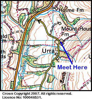 Map of the Urra Farm area