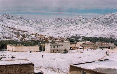 la ville de Debdou