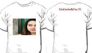 Promoção : Ganhe essa camiseta da atriz Kim Kamberlly