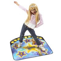 Hannah Montana Dance Mat And Wig 82